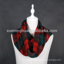 yak wool double faced scarf