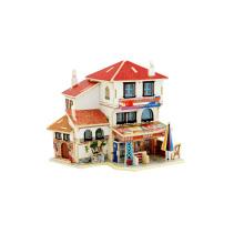 Juguetes de coleccionables de madera para casas globales-Turquía Covenience Store