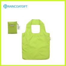 Bolso de compras plegable de nylon reutilizable al por mayor Rbc-096