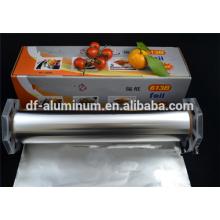 Cocina suave Rollo de aluminio para alimentos para hornear y envasar