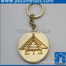 Porte-clés en forme de pièce antique