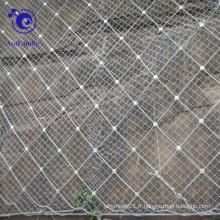 Treillis métallique de protection de pente nette de corde de spirale pour la station d'hydro-électricité