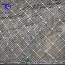 Spiral rope net slope protection wire mesh for hydropower station