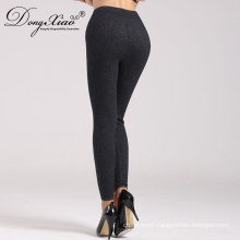 New Design Wool Cashmere Black Girls Tight Indian Pants