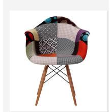 tissu de travail patch couverture unique canapé chaise dans un café