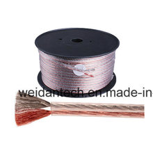 High Quality 10meter AWG15 Two Conductor Speaker Audio Cable