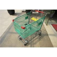 Amerika-Supermarkt-Einkaufswagen-Laufkatze