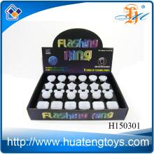L'anneau LED clignotant en gros, l'anneau à doigts dirigé, la bague de nouveauté clignotante H150293