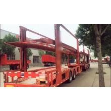 Semi-reboque de transporte de veículos para carros longos