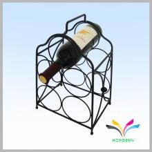 Kundenspezifisches Design Pulverbeschichtetes Display Metall Rotwein Rack