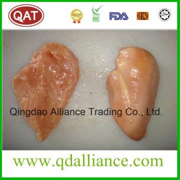 Pollo Halal congelado sin piel y hueso