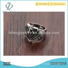 Nouvelle bague de style, design unique en anneau, bague en acier inoxydable pour hommes