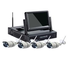 7.0 polegada LCD 4CH 8CH kit câmera sem fio CCTV NVR kit câmera wi-fi