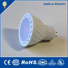 Refletor LED branco SMD 220V AC GU10 3W