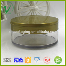 Transparent new design customized Cosmetics Jars wholesale with screw cap