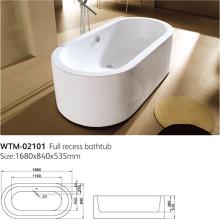 Marbella Modern Free Standing Roll Top Bath Tub Wtm-02101