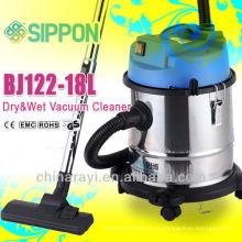 Carcaça Aço Inoxidável Wet & Dry Aspirador de Pó