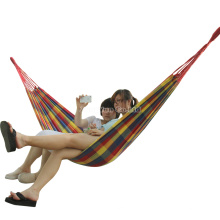 Thickening Widened Single Canvas Hammock Camping Hammock