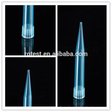 Consumibles de laboratorio Puntas de pipeta 1000ul / 1ml para pipeta Eppendorf