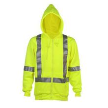 Winter Strip Yellow Reflective Safety Jacket Uniform