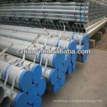 Tubo de aço de 90mm galvanizado