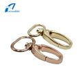 Two Sizes Hardware Accessories Snap Hook Gold Metal
