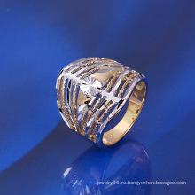 Xuping Multicolor позолоченное кольцо простого стиля