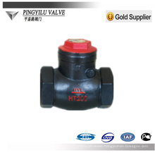 cast iron swing check valve used in the nitric acid china supplier