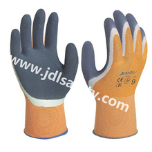 Work Gloves with Sandy Latex Palm Coated (LRS3035)