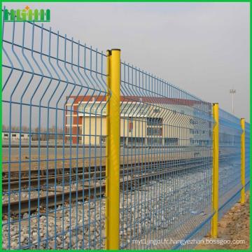 Prix d'usine bon marché et fini en clôture en treillis anti-escalade en Chine