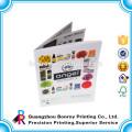 Цвет страниц конструктора OEM печатание каталога