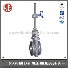 High pressure plate gate valve