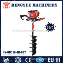 garden auger manual power hand post digger garden hand tools manual hole digger