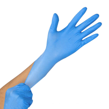 Luvas descartáveis de nitrilo puro não esterilizadas