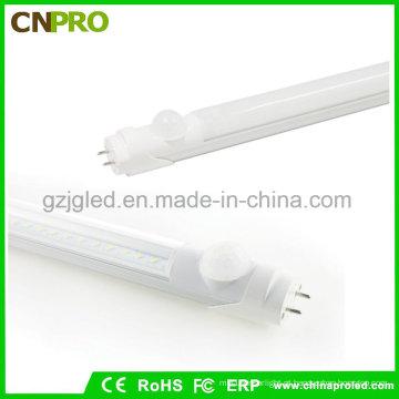 Iluminação Eco-Amigável do tubo do diodo emissor de luz do preço barato 1.5m com sensor de PIR
