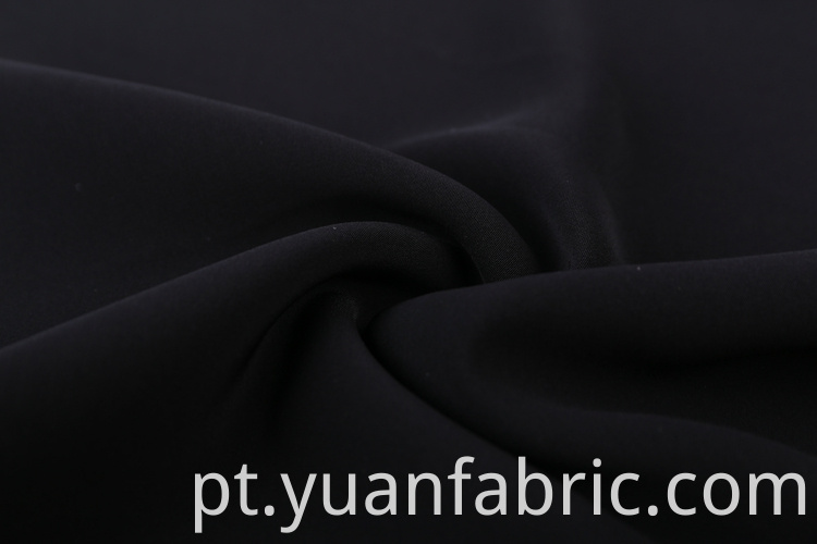 164plain Dyed 100 Polyester Stretch Woven Fabric