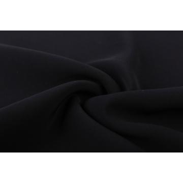 Tissu tissé extensible 100% polyester teint en plaine
