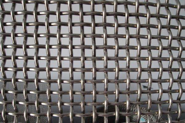 square plian weave stainless steel wire mesh