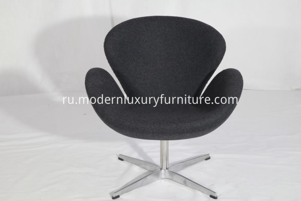 Designer Cashmere Swan Chairs By Arne Jacobsen