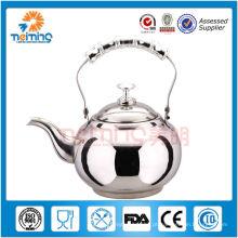 venda quente de alta qualidade em aço inoxidável chaleira de chá, 1.0 pote Ltea http://meiming.en.alibaba.com/