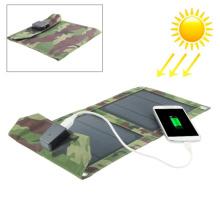 Универсальное 5W портативное USB солнечное зарядное устройство для сотового телефона MP4 GPS