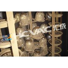 Máquina de revestimento cerâmica do vácuo do copo / máquina de revestimento cerâmica dos utensílios de mesa PVD