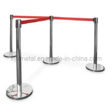 Barrières de ceinture rétractable mobiles fonctionnelles et accessibles