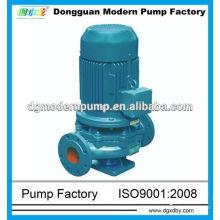 Pompe centrifuge pour pipeline série ISG / prix de pompe pour pipeline / pipeline de pompe