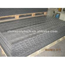 alfombra de suelo hecha de 100% HDPE