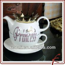 Venta caliente de cerámica una taza de té pote