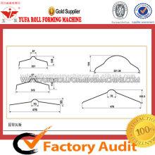 YUFA Vollautomatische Ridge Cap Roll Formmaschine
