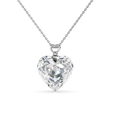 Classic Gold Plated Love Heart Fine Women Pendant Necklace Fashion Jewellery
