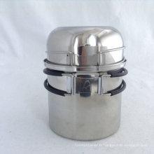 Batterie de cuisine en acier inoxydable 304, 2 pièces