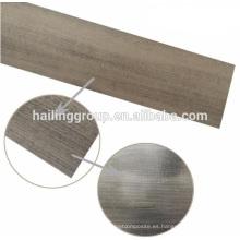 Pisos de tablones de vinilo de grano de madera